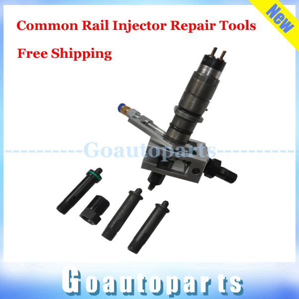 Free shipping common rail injector repair tools common rail test kit with six month warranty(China (Mainland))