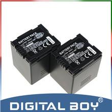 Tianfen 2pcs/lot CGA-DU21 CGA DU21 2500mAh  Battery For Panasonic CGR-DU06 CGA-DU06 DU12 CGA-DU21 DZ-GX20 DZ-MV750 PV-GS35 z1
