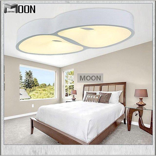 Koop moderne led plafond lamp witte acryl opbouw lamp creatieve lamp voor foyer - Decoratie woonkamer plafond ...