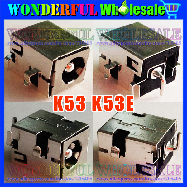 Freeshipping 2.5mm Laptop DC Jack,Power Socket for Asus K53 K53E