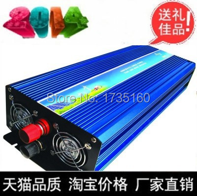 Free shipping!DC12v-AC220v 1500W Pure Sine Wave Frequency Inverter for TV,Fridge ,Lamp,Computer,Cookers(China (Mainland))