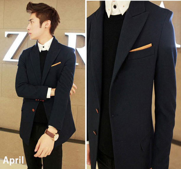 High quality Fashion elegant Men Blazers three-dimensional cut medium-long male overcoat clothes Одежда и ак�е��уары<br><br><br>Aliexpress