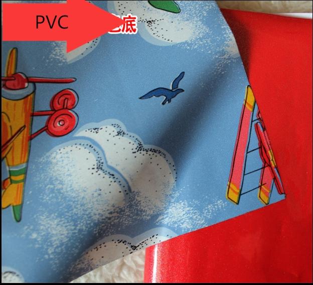 New Increasing environmental protection PVC self-adhesive wallpaper children room cartoon wall sticker furniture renovation(China (Mainland))