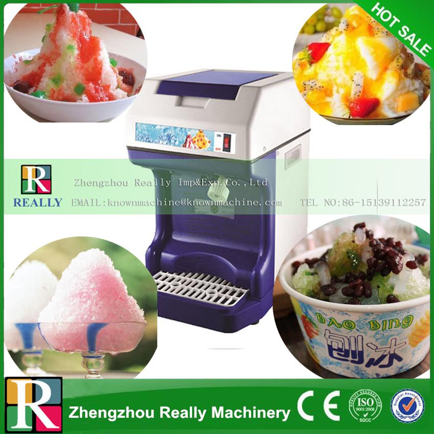 Kitchen use commerical 110/220V ice block shaving machine,ice crusher,ice smoothies machine(China (Mainland))
