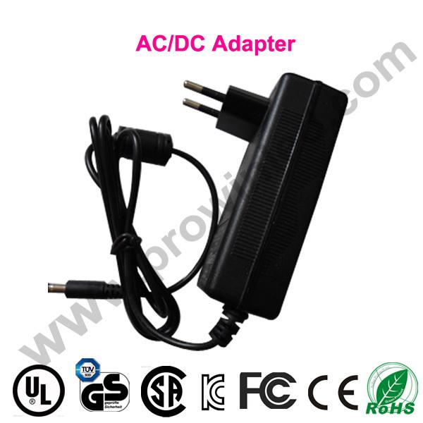 48w power supply ac dc 24v 2a adapter 5pcs free Shipping wall mount EU switching ac 220V transformer converter LED drivercharger(China (Mainland))