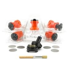 Бесплатная доставка высокое качество вулкан испаритель части вулкан легко клапан стартовый комплект с коробке 5 легко мешки внутри