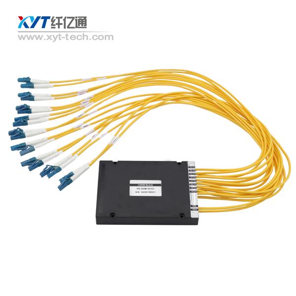 FTTH CATV Telecommunication Euqipment Fiber optic Single fiber 8 channel CWDM MUX or DEMUX(China (Mainland))
