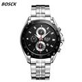 BOSCK 3102 men s watch automatic calendar waterproof quartz watch watch of wrist of high end