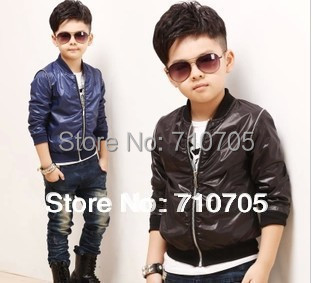 Free shipping Children's Apparel children outerwear Boys Jackets Coat Motion Handsome Long sleeve(China (Mainland))