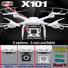 MJX X101 quadcopter drone 2.4G RC 6-axis can add C4005 C4008 C4009 wifi camera FPV(China (Mainland))