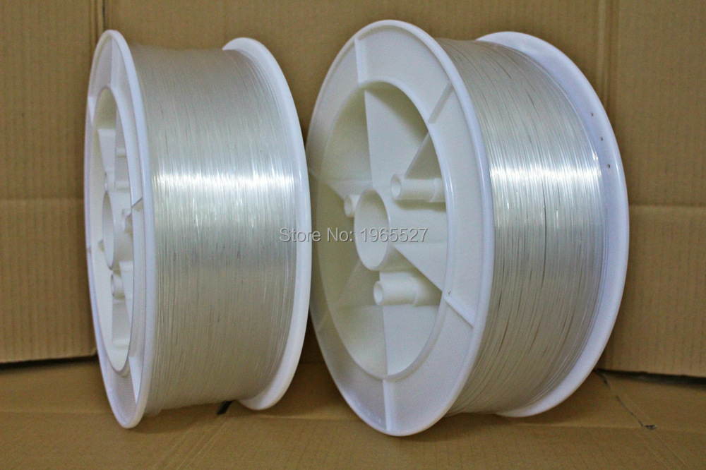 1.5mm diameter 700m/roll PMMA fiber optic cable end glow Optic Fiber Lights for decoration lighting(China (Mainland))