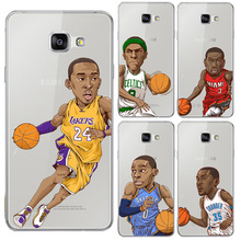 Buy Hot New Fundas NBA Basketball Star KOBE James Pattern Phone Cover Samsung Galaxy A3 A5 A7 Case Hard PC Capa Coque for $1.41 in AliExpress store