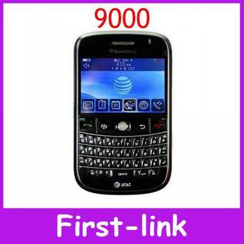 Открынный оригинал жирный 9000 телефон английский клавиатуры 2-мегапиксельной камерой 2.4 дюймов WIFI GPS 3 г сети