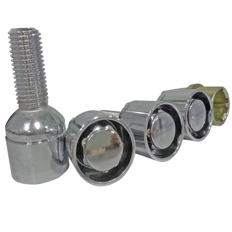 Wheel Lock Bolts Steel Car Wheels Lock Lug