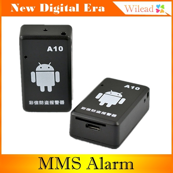 Security MMS Alarm System A10 Wireless Alarm System home Alarm Electronic MMS alarm support GPS AD0019(China (Mainland))