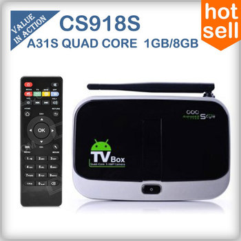 CS918S T-R42 MK888  Android 4.2 TV Box A31S Quad Core Mini PC RJ-45 USB WiFi Antenna Smart TV Media Player Remote Bluetooth