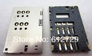 80PCS/LOT new sim card reader tray holder socket For Huawei ascend P1 T9200 U9200 FREE SHIP