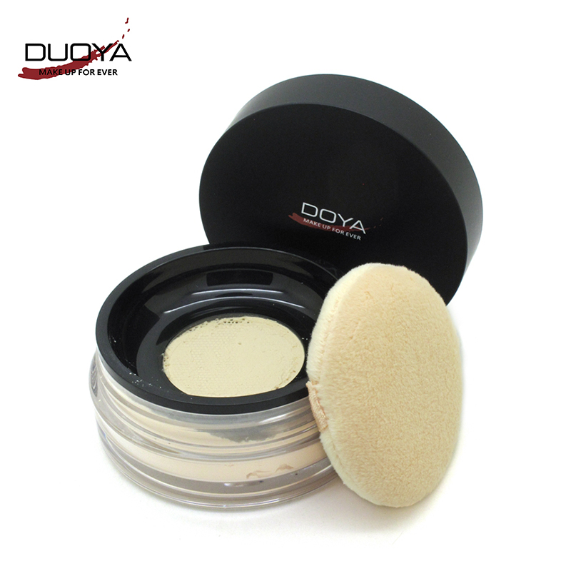 DUOYA Net Muscle Definition Translucent Loose Powder Brighten Foundation Brighten Natural Matte Finish Loose Face Powder Big Box(China (Mainland))