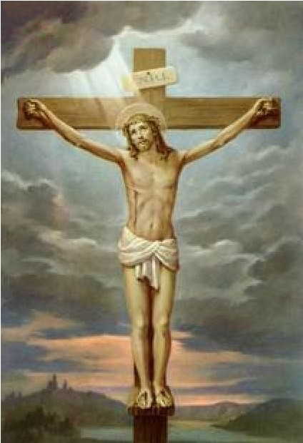 .LATEST PRECISE PRINTING LARGE CROSS STITCH HUA RELIGIOUS FIGURES CRUCIFIXION - CHRISTIANITY CATHOLICISM.  -  ruiling feng's store store