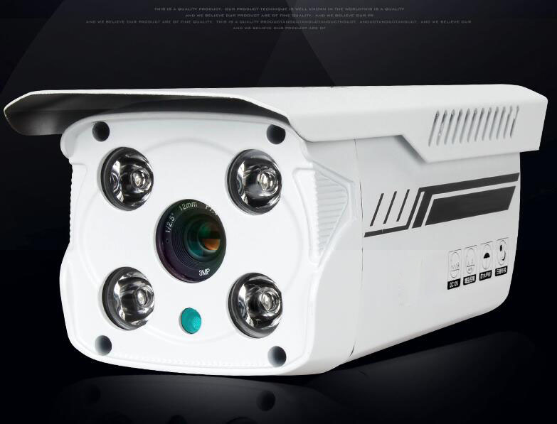 720P Security Surveillance IPcam High Quality 3.6/4/6/8/12/16mm Lens Outdoor Waterproof Camera IR Night Vision Telecamera J571b<br><br>Aliexpress