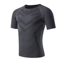 Running Gym Fitness Sport Shirt Tops Mens Compression Workout T shirts High Quality Skin Friendly High