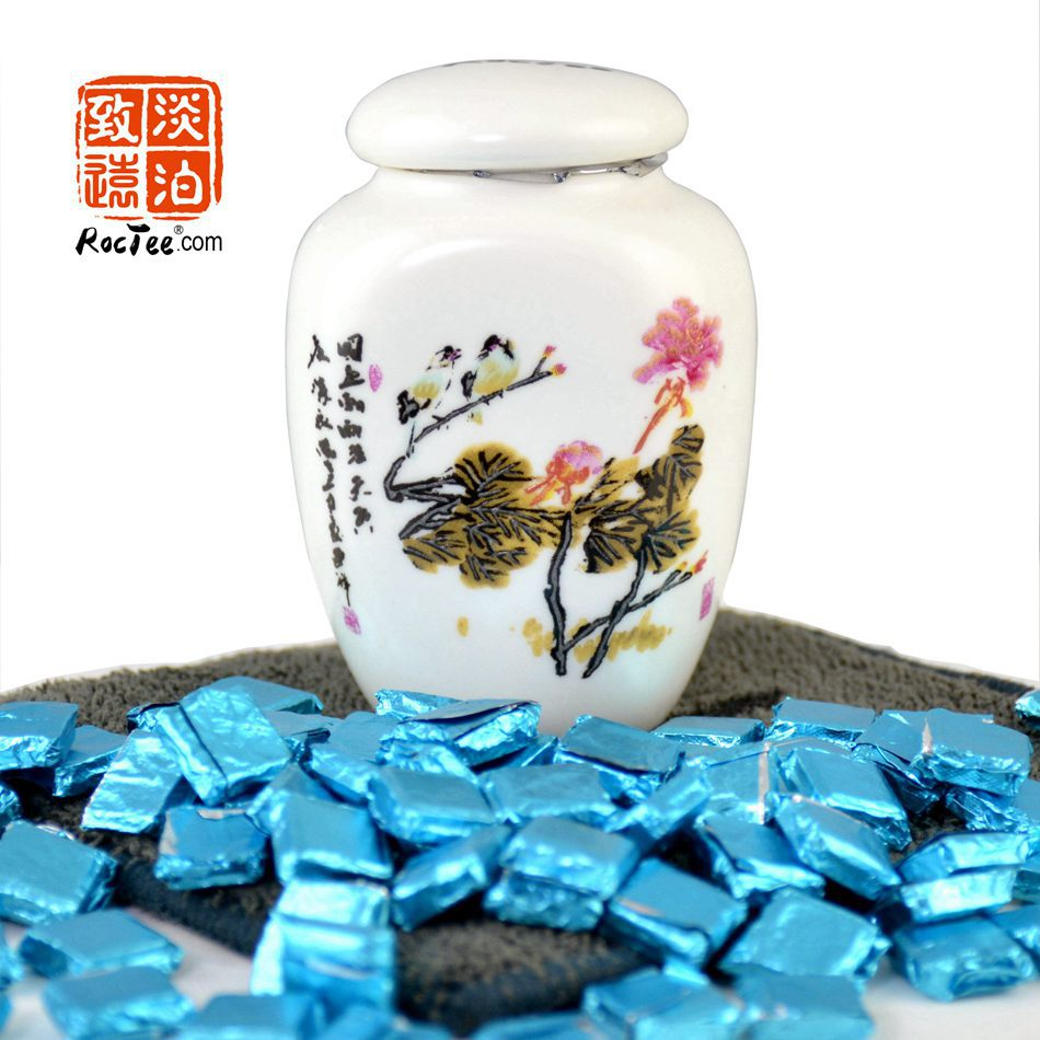 Jasmine Puer Tea Resin about 50 pcs Chinese Shen Puerh Cha Gao healthy Te Weight loss