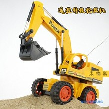 car toys for kids Remote control engineering truck excavator wireless  excavator 8020rc (China (Mainland))