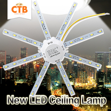 LED Ceiling Lamp Octopus Light 12W 16W 20W 24W LED Light Board 220V 5730SMD Energy Saving Expectancy LED Lamp Indoor Lighting(China (Mainland))
