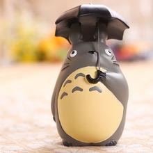 New Arrive Action & Toy Figures Hayao Miyazaki Totoro With Umbrella Figures Free Shipping