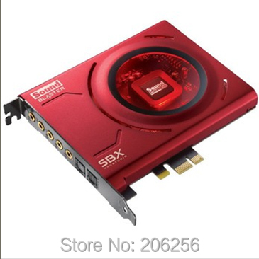 Free shipping Original Creative Sound Blaster Z PCIe Sound Card New Promotions interface PCIe Game music special sound(China (Mainland))