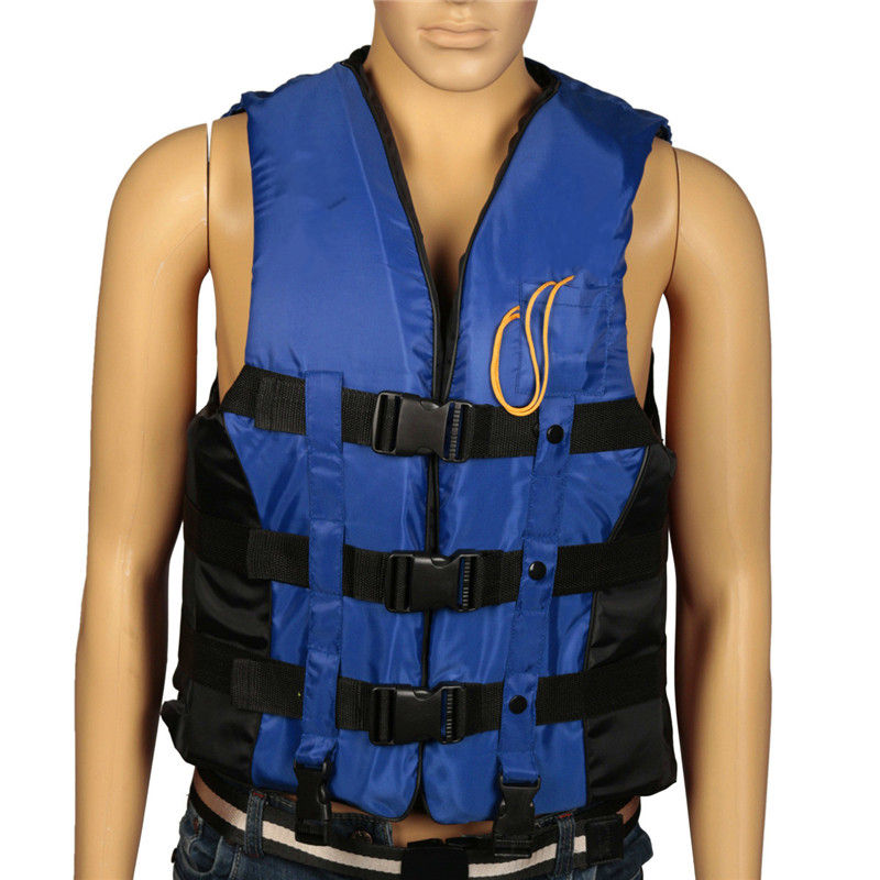 NEW ARRIVAL 3 Colors M Swimming Boating Surfing Sailing Polyester Foam Life Jacket Vest Whistle Prevention Flood With Stride Acr(China (Mainland))