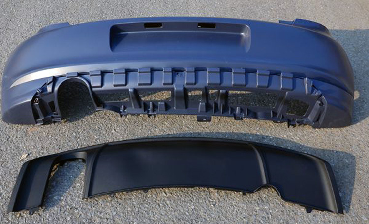 r line rear diffuser uk polos net the vw polo forum. Black Bedroom Furniture Sets. Home Design Ideas