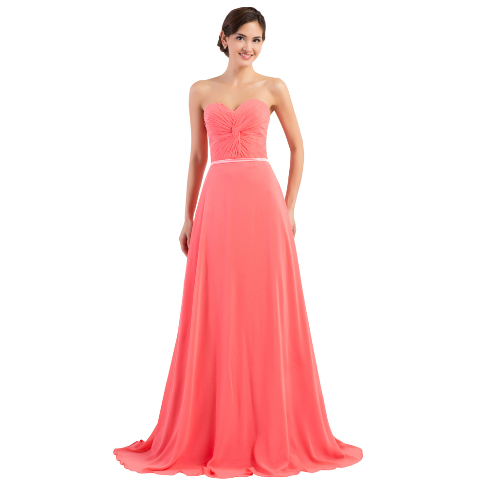 Coral party dresses cocktail dresses 2016 for Plus size coral dress for wedding