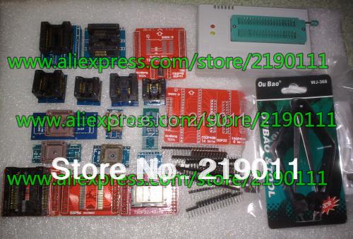 20ADAPTERS+ V6.5  MiniPro TL866 Programmer TL866CS USB Universal Programmer + 14000 chips