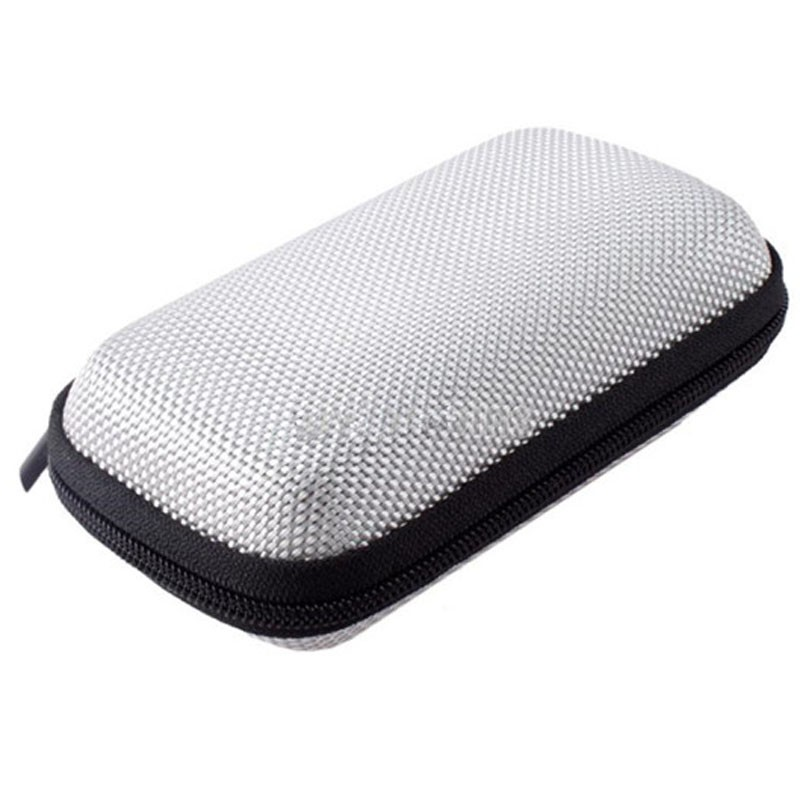 1pcs New Small Hot Selling Earphone Storage Bag Carrying Case for Earphone Power Bank MP3 MP4  Pouches