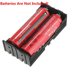 High quality 78x40x24mm Useful ABS Plastic Storage Box Case Holder For 2x 18650 3.7V Rechargeable Batteries W/4 Pins Contact