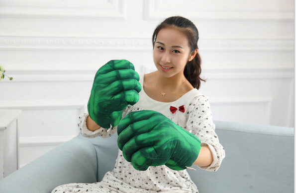 Hulk movie boxer hulk gloves knuckles spider-man gloves boxing gloves(China (Mainland))