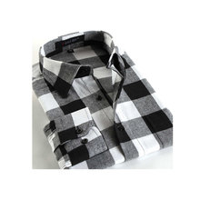 Buy 2016 fashion Casual mens Long Sleeve Plaid Shirts, Slim Fit Comfort Soft Flannel Cotton Shirt Leisure Styles man Clothes for $8.24 in AliExpress store