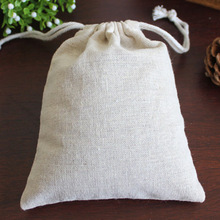 """Linen Drawstring Bags 13cmx17cm(5.5""""x6.5"""") Jewelry Gift Pouches Wedding Party Favor holders Fabric Muslin Cotton Storage Bags(China (Mainland))"""