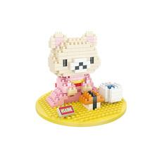 Sushi Rilakkuma Bear Action Figures Toys Building Blocks Anime Cartoon Best Gift For Children Mini Assembled Bricks