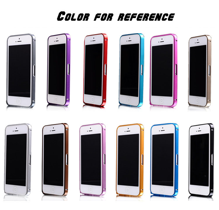 New arrival 0.7mm Ultra thin Cross Line Case Aluminum Bumper case For iPhone 5 5S 100pcs/lot free shipping(China (Mainland))