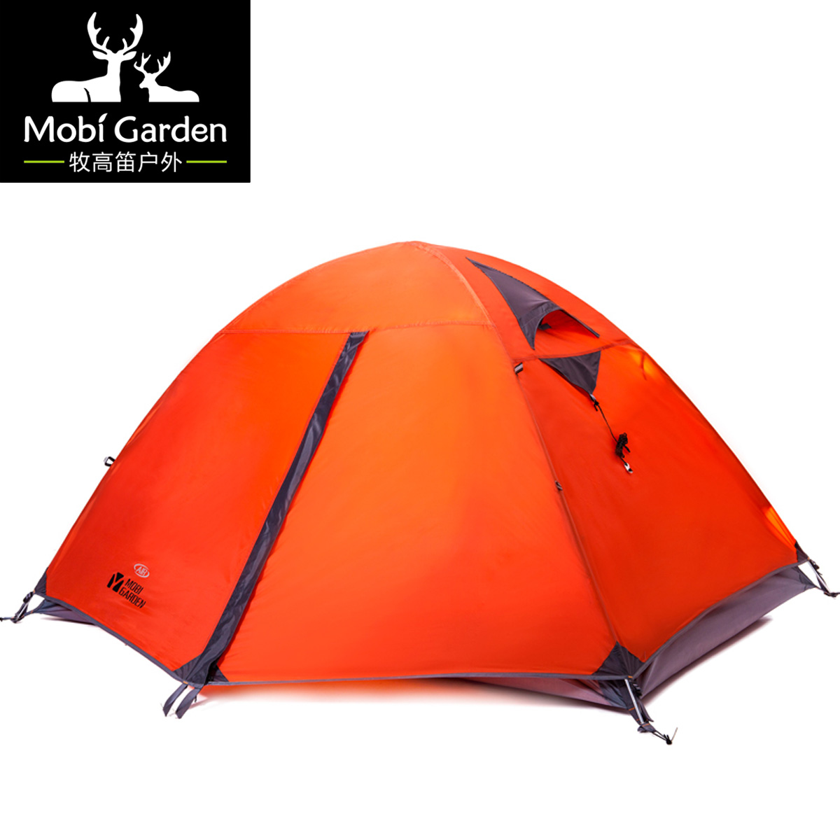Фотография Professional mountaineering tent  hiking windproof double layer aluminum breathable camping tent 2air