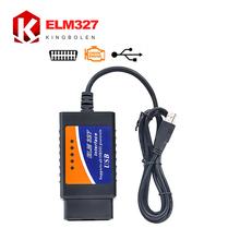 Elm327 usb 2016 di alta qualità 3 anni di garanzia obd/obdii scanner elm 327 auto diagnostica scanner(China (Mainland))