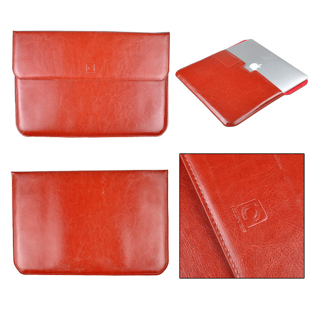 """Retro Leather Laptop Sleeve Case Bag For Apple MacBook Retina 13"""" / Air 11"""" 13"""" Free Shipping(China (Mainland))"""