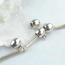 17 pcs Zinc Alloy Bead DIY European bag big hole metal connector Beads Fits Charm Bracelets Necklaces Pendants making 18197(China (Mainland))