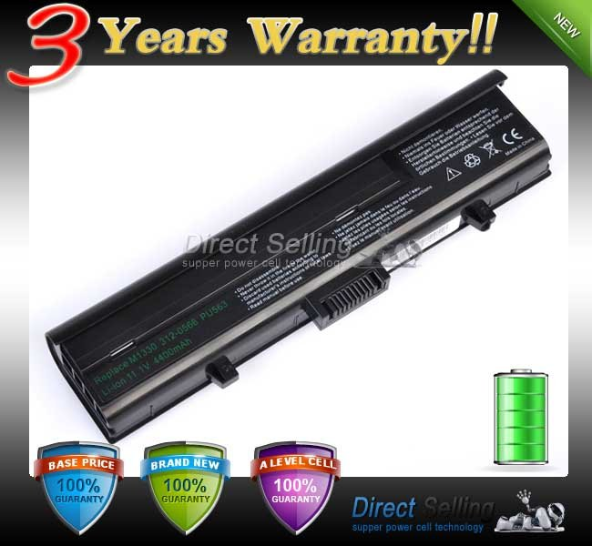 Japaness Cell! NoteBook Battery Pack For DELL XPS 1330 M1330 M1350 312-0566 312-0567 312-0739(China (Mainland))