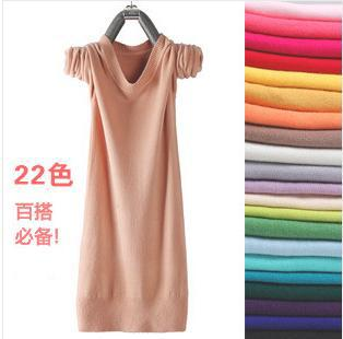 autumn winter long round collar thin turtleneck sweater cultivate one's morality base dress - Online Store 737103 store