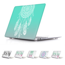 Amazing Unique Dream Catcher Feather Pattern Air 13 11 Crystal Clear Case for MacBook Pro Retina 13 15 Hard Cover Mac Book 12