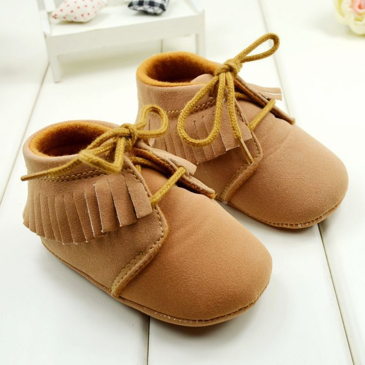 2015 Autumn Baby Girls Boys First Walkers Shoes Brown and Pink Color Soft Bottom Toddler Boots 3 Sizes Free shipping & Drop Ship(China (Mainland))