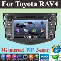 """7"""" Car DVD Player With GPS For Toyota RAV4  RAV 4  with 3G internet access  2006 2007 2008 2009 2010 2011 2012"""